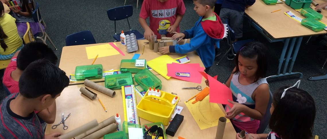 Students get creative with interactive STEAM projects!