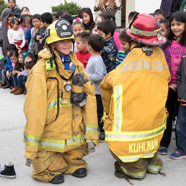 Future firefighters on the go!
